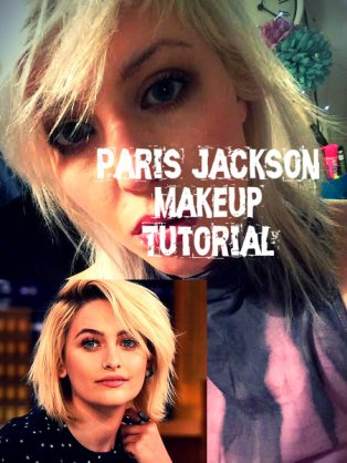 PARIS JACKSON MAKEUP TUTORIAL