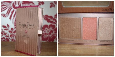 BRONZER BLUSHER AND HIGHLIGHTER