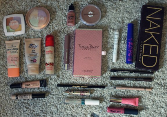 all the makeup